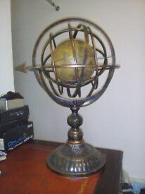 nice globe and stand