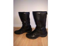 Motorcyle waterproof boots - Bike Boots - Dainese Gore Tex - Black - UK 6