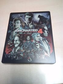 Uncharted 4 PS4 Game *STEELBOOK EDITION*