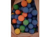 Commercial ball pit balls