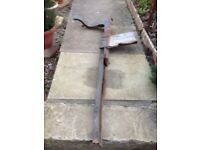 Mk1 ford cortina front chassis legs PAIR