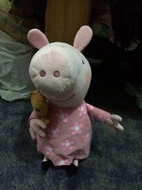 Peppa pig teddy