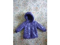 New warm NAME IT without label baby girl coat 9-12 months
