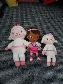 Collection of kids teddies