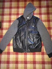 Men's Threadbare Jacket - Black & Grey - XXL