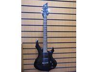 Esp Ltd f-400fm Guitar With Hard Case