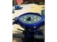 Mobility scooter Invacare auriga blue