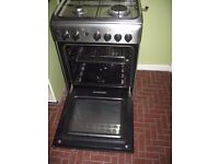 Indesit 4 ring Silver Gas Cooker