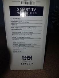 """24"""" smart cello tv full hd brand new in box"""