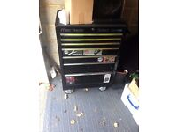 "mac tools tool box 26"" wide with key"