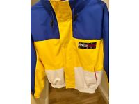 Tommy Hilfiger Windbreaker Jacket - Rrp £175 - Vintage Tommy Jeans Outdoor Expedition Coat