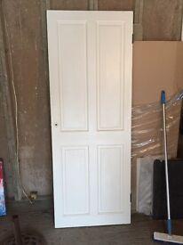 Lovely solid wooden panel door 29 x 77