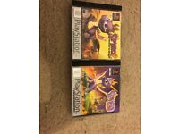 Ps1 Spyro The Dragon & Spyro 2 Games Both Games In Excellent Condition
