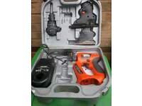 2 x black and decker quattro tool sets need new batterys