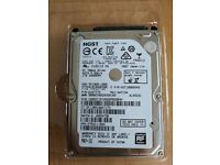 """1TB 2.5"""" HGST Disk Drive Working & Tested"""