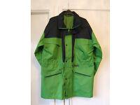 Mens Waterproof Windproof Jacket, Large size 40 in+, Lime Green/Navy by Regatta