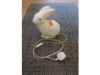 Bunny rabbit light fitting