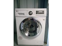 LG Washer/Dryer (white) 10yr motor Warranty