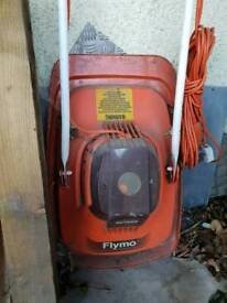 Flymo and strimmer