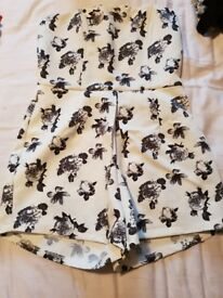 playsuit size 12 from missguided