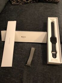 apple watch series 3 sports 42mm space gray (gps + Cellular