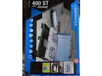 Campingaz 400ST double burner stove with toaster