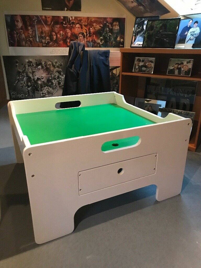 Mothercare play table with draw.