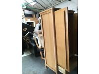 Wardrobe solid berg strong with bottom draw storage