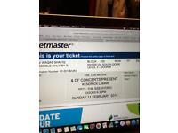 KENDRICK LAMAR SSE HYDRO GLASGOW FACE VALUE TICKETS!!!