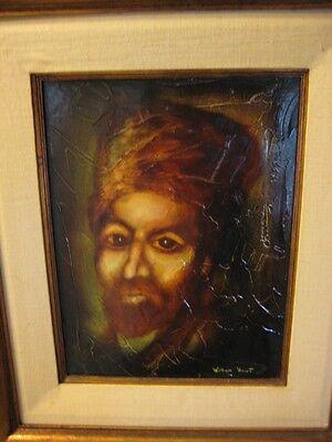 Original Oil Painting By William Verdult Masterpiece, Russian Cossack Portrait