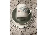 Susie Cooper Fine Bone China Tea Set
