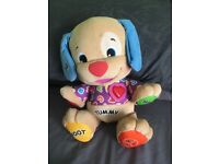 Fisher price abc learning dog
