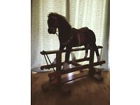 LARGE ANTIQUE Rocking Horse