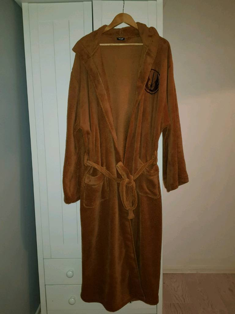 New Official Star Wars Jedi Mens Dressing Gown | in Thornaby, County ...