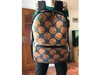 Hamburger school bag