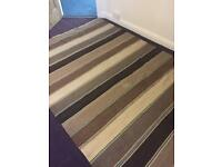 Large Indian woven rug IKEA