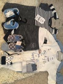 Baby boys clothes from next