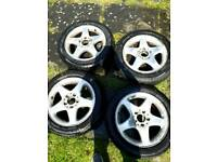 Mercedes-Benz 16 inch alloy with brand new tyres