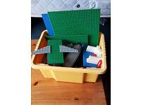 Box of Original Lego
