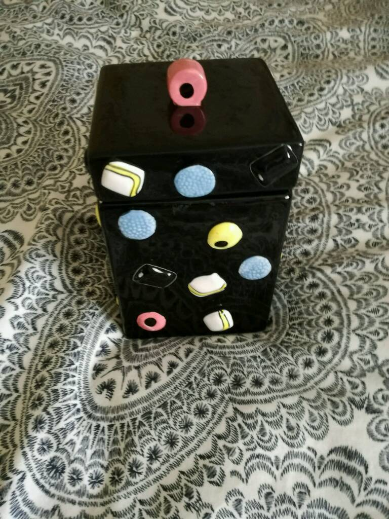 Cookie jarin Comber, County DownGumtree - Licorice all sorts cookie jar. Smoke free house hold Good conditionCollection only