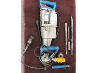 Kango 950 hammer drill breaker with box and bits * fully working * will take swap or PX on anything