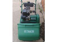 Qualcast Classic Petrol 35S Push Reel Cylinder Lawnmower Lawn Mower - Self-Propelled