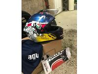 AGV bike helmet