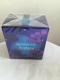 Britney Spears midnight fantasy 100ml NEW Boxed