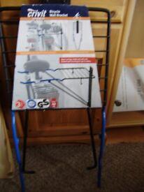 Bicycle wall bracket, new