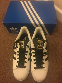New adidas superstar trainers