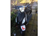 125cc piaggio fly registered as a 50cc