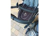 Pram by iCandy, including accessories