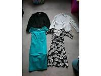 Size 8 L.K Bennett & DKNY dresses and jackets bundle
