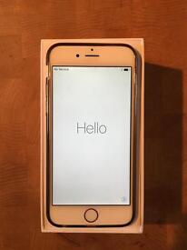 iPhone 6 128Gb white and gold VGC, unlocked
